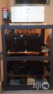 1.5kva 24v Inverter Wit Four 100ah Ba3s Plus Ba3 Rack And Installation   Building & Trades Services for sale in Lagos State, Ikorodu