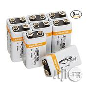 Amazonbasics 9 Volt Everyday Alkaline Batteries (8-pack) | Electrical Equipment for sale in Lagos State