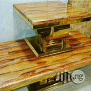 Executive Marble Centre Table With Side Stools | Furniture for sale in Lagos State, Lekki Phase 1