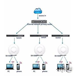 300mbps Ceiling Wireless Access Point - AP 802.11b/G/N Poe | Networking Products for sale in Benue State