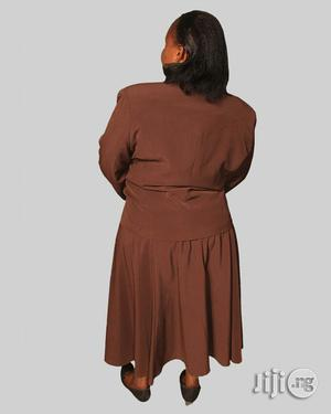 Breeze Suit Skirt Brown   Clothing for sale in Lagos State, Ikeja