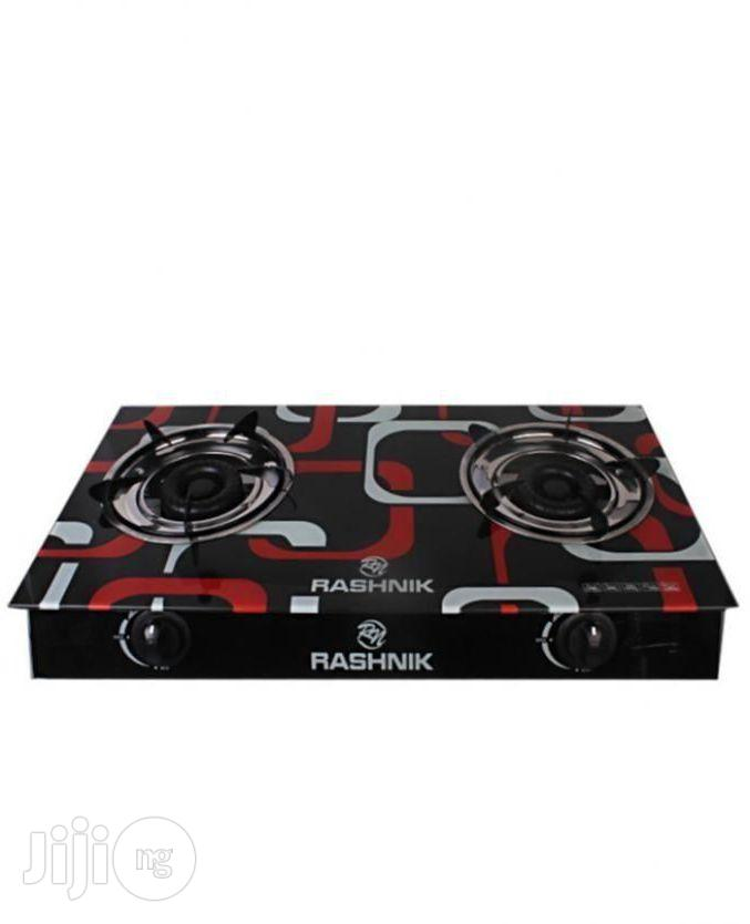 Rashnik Glass Top 2-Burner Gas Cooker TBGS-1100 | Kitchen Appliances for sale in Lagos State, Nigeria