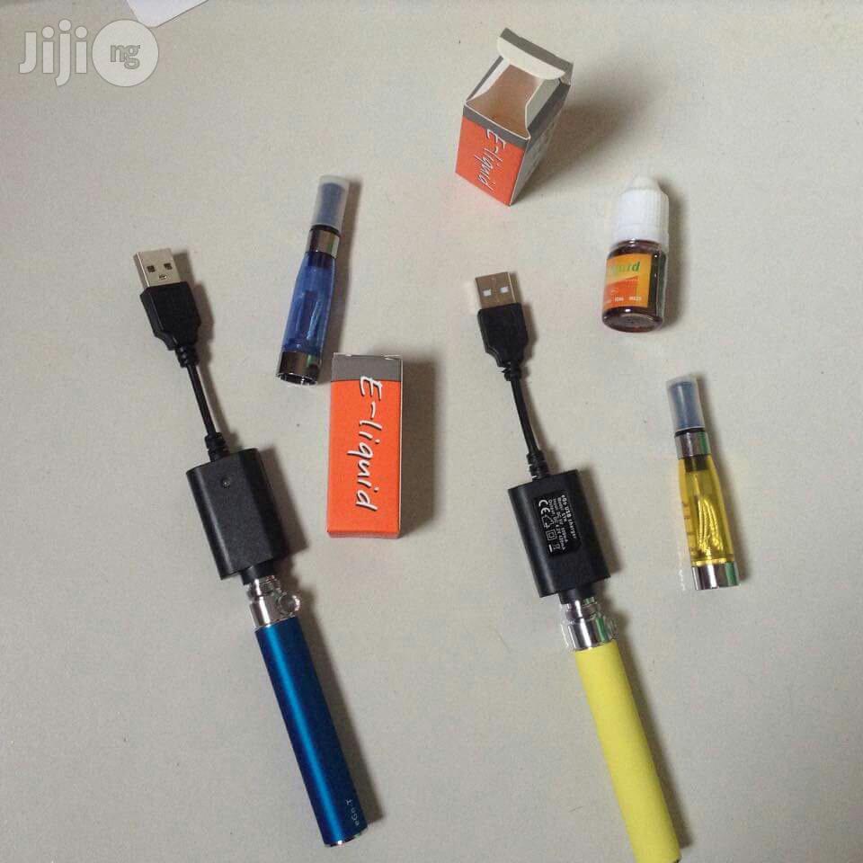 Chargeable E-cigarettes With E Liquid | Tobacco Accessories for sale in Victoria Island, Lagos State, Nigeria