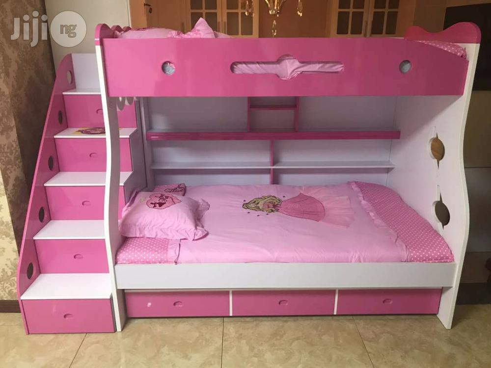 Double Deck Children's Bed.