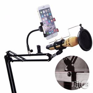 Remax Mobile Recording Studio With Phone Holder And Pop Filter   Accessories & Supplies for Electronics for sale in Lagos State, Ikeja