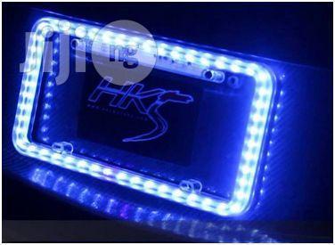Lighted License Plate Frame