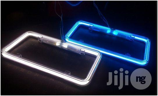 Lighted License Plate Frame | Vehicle Parts & Accessories for sale in Surulere, Lagos State, Nigeria
