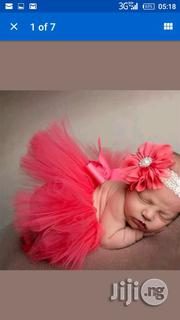Pink Tutu Skirt With Headband | Children's Clothing for sale in Abuja (FCT) State, Lugbe District