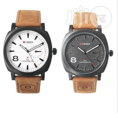 Leather Watch For Men/Women Leather Wrist Watch Unisex Design
