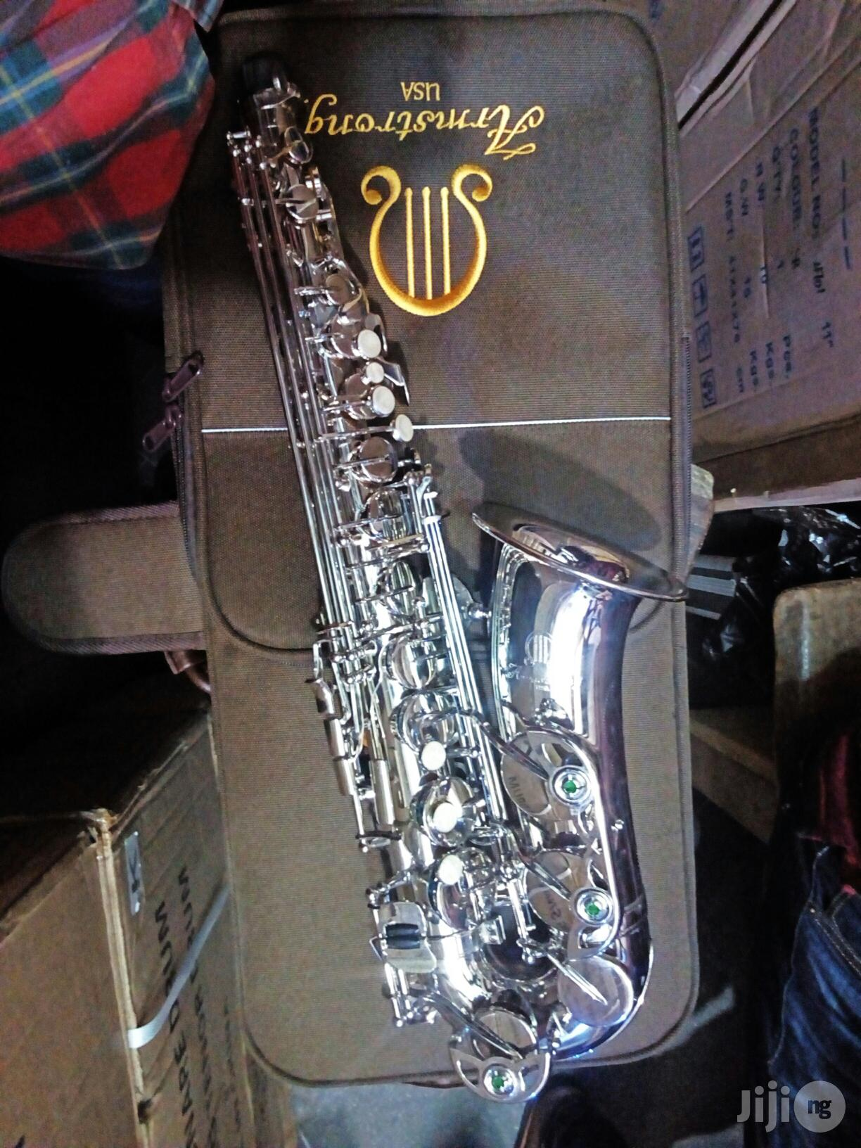 ARMSTRONG Alto Saxophone Silver/Gold,Original. | Musical Instruments & Gear for sale in Ojo, Lagos State, Nigeria