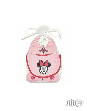 Minnie Mouse Hat,Bib Booties Set | Children's Shoes for sale in Lagos State, Ikeja