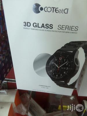 3D Glass Series Tempered Glass Screen Protector For Gear S3 Watch   Accessories for Mobile Phones & Tablets for sale in Lagos State, Ikeja