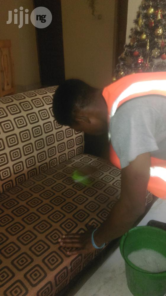 Detail Upholstery Cleaning Service