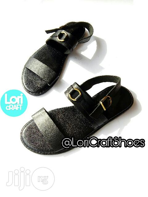 Beautiful Men's Handmade Casual Leather Sandals and Slides for Sale | Shoes for sale in Victoria Island, Lagos State, Nigeria