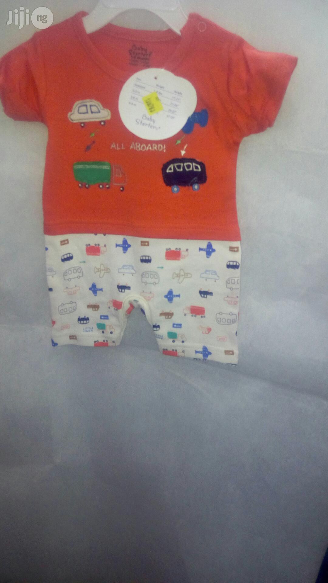 Baby Starter Unisex Romper