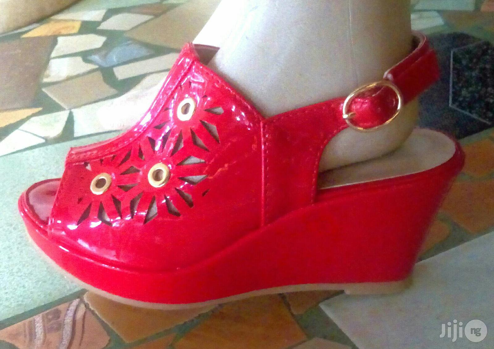 Girl's Wedge Open Toe Shoes | Children's Shoes for sale in Ikotun/Igando, Lagos State, Nigeria