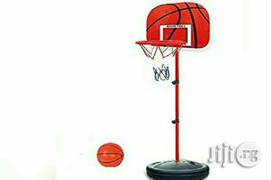 Kiddies Basket Ball Stand And Ball | Sports Equipment for sale in Lagos State, Surulere