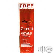 Veetgold Carrot Extract Fairness Body Lotion (SPF 15)