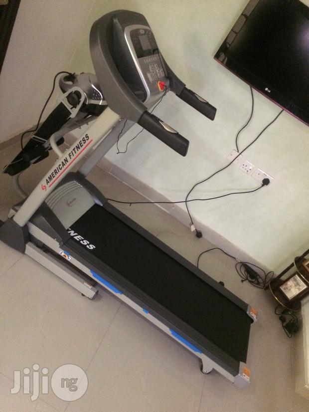 Archive: New Imported Original 2.00hp Treadmill With Massager