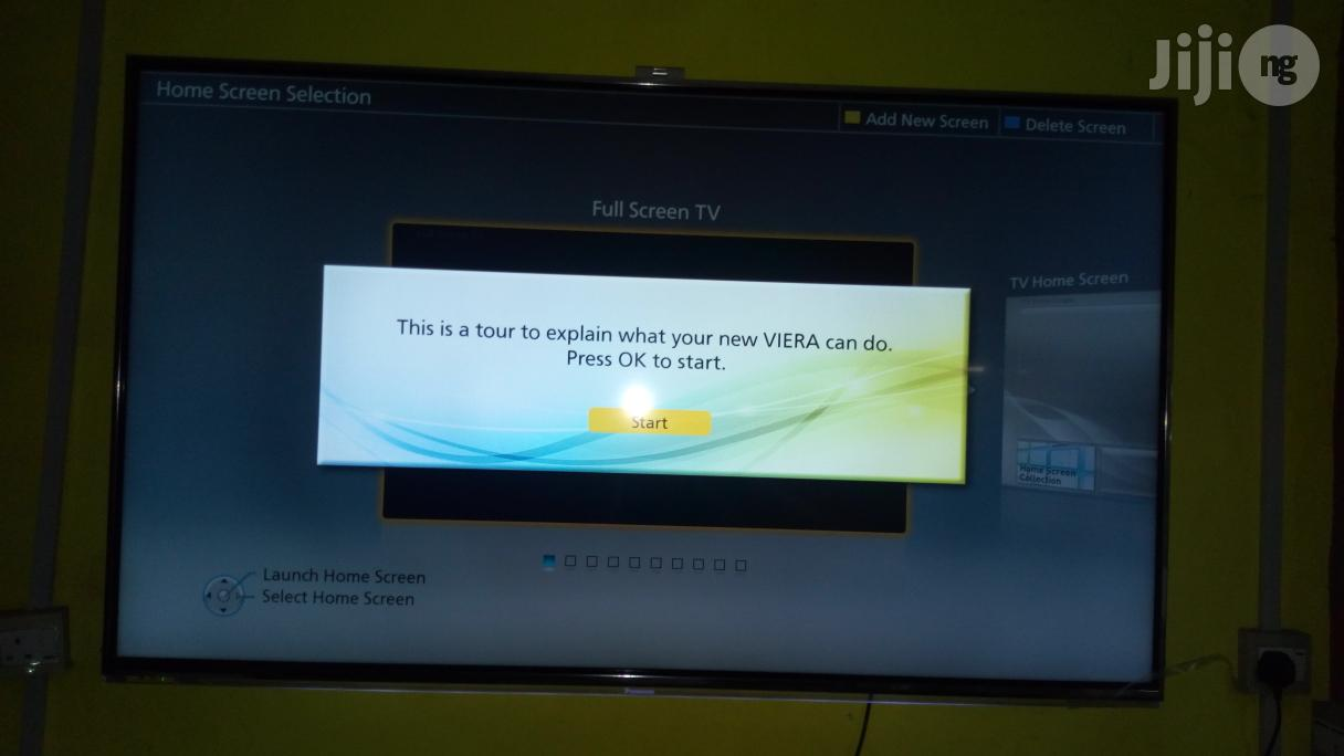 """Pay On Delivery - Camera 65"""" 4K UHD Panasonic Viera Internet Smart TV 
