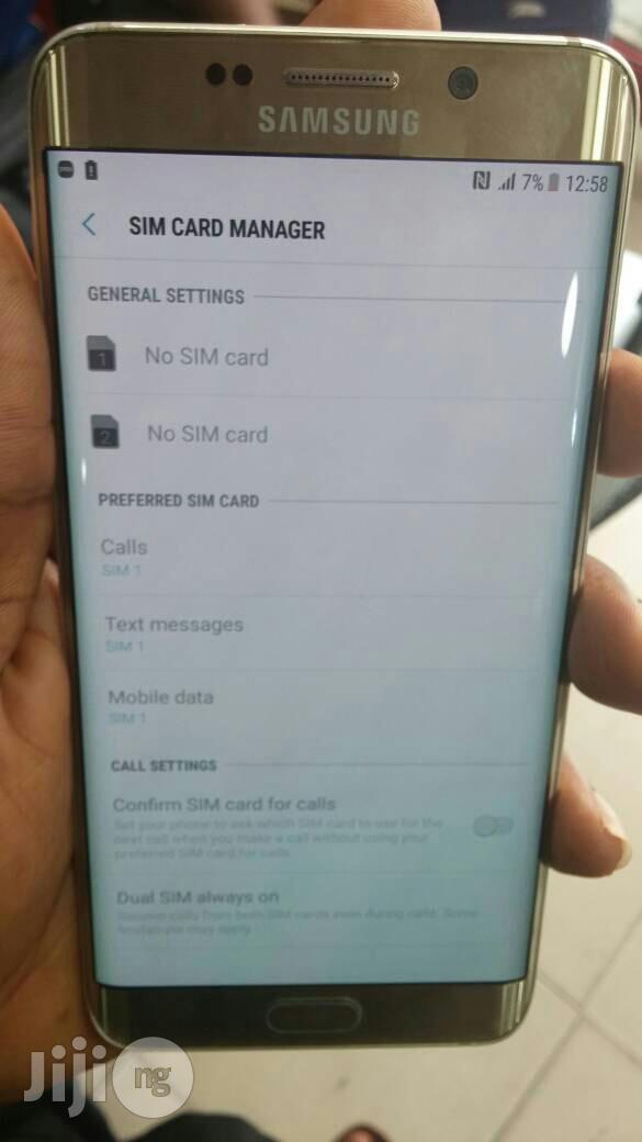 Samsung Galaxy S6 Edge Plus Duos 32 GB | Mobile Phones for sale in Ikeja, Lagos State, Nigeria