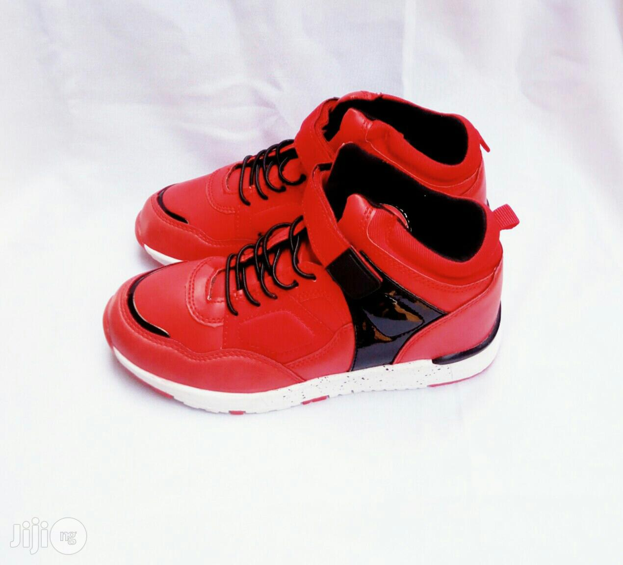Red Canvas Sneakers | Children's Shoes for sale in Lagos Island (Eko), Lagos State, Nigeria