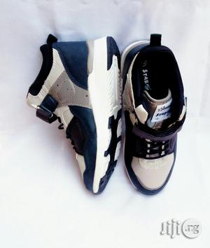 Blue and White Canvas Sneakers for Boys | Children's Shoes for sale in Lagos State, Lagos Island (Eko)