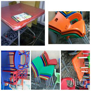 Plastic Tables And Chairs. | Furniture for sale in Lagos State, Ojo