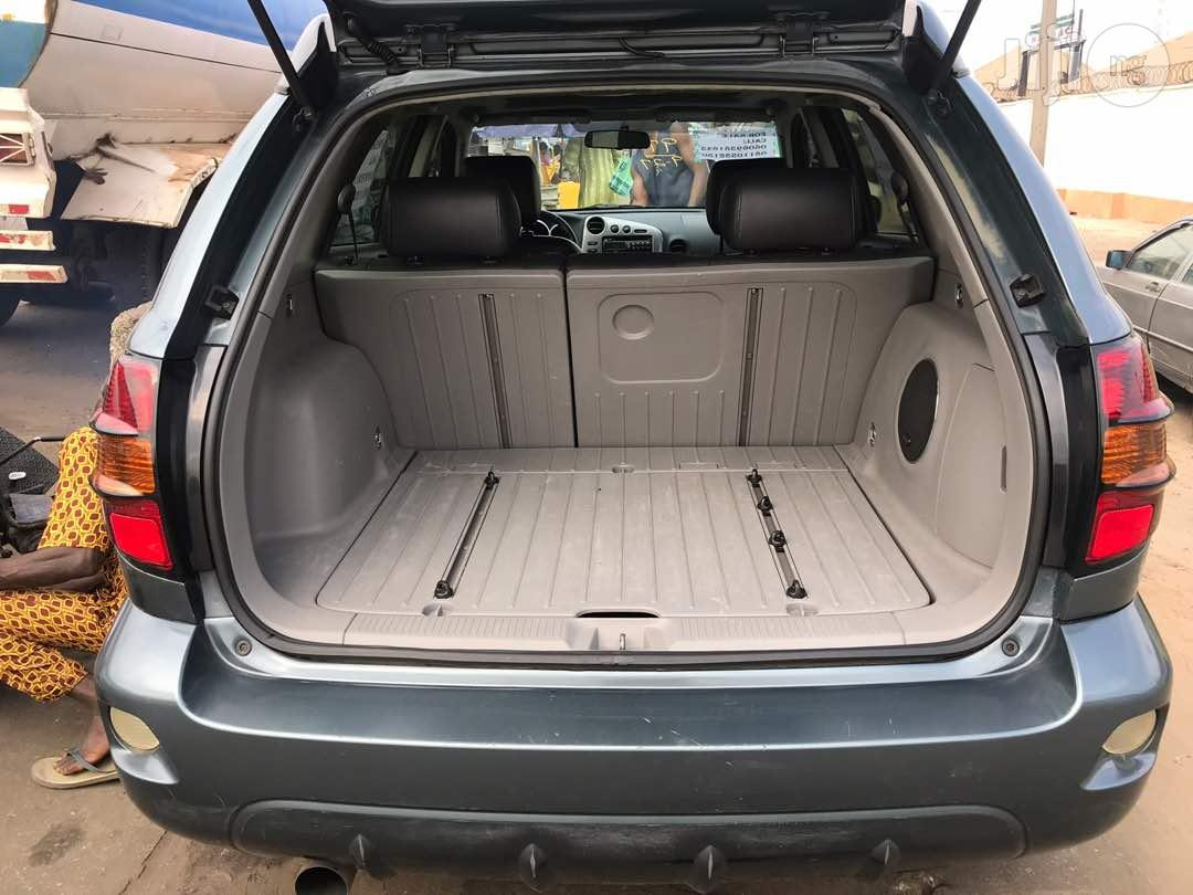 Tokunbo Pontiac Vibe 2006 Green   Cars for sale in Surulere, Lagos State, Nigeria