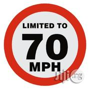 Maximum Speed 70 Kilometers Hour Km/H Speed Limit Sign | Automotive Services for sale in Lagos State