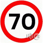 New Maximum Speed 70 KM/H Aluminum Sign | Vehicle Parts & Accessories for sale in Lagos State