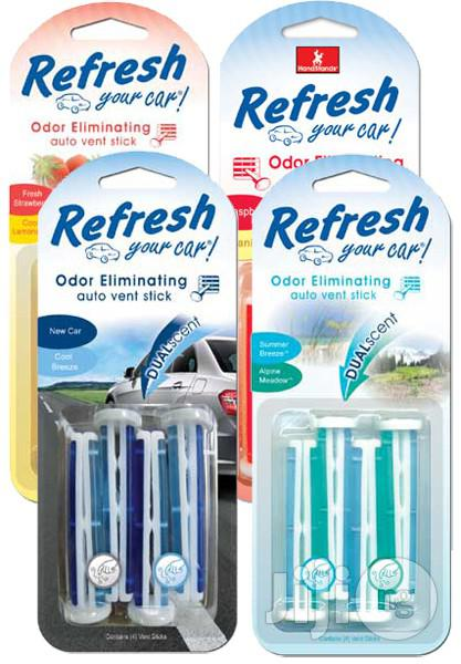 Refresh Vent Stick Dual Scented Air Fresheners