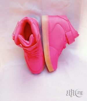 Pink Light Canvas for Girls | Children's Shoes for sale in Lagos State, Lagos Island (Eko)