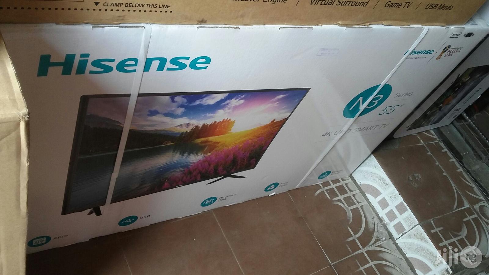 Brand New Original Hisense 55 Inches Smart 4k Tv