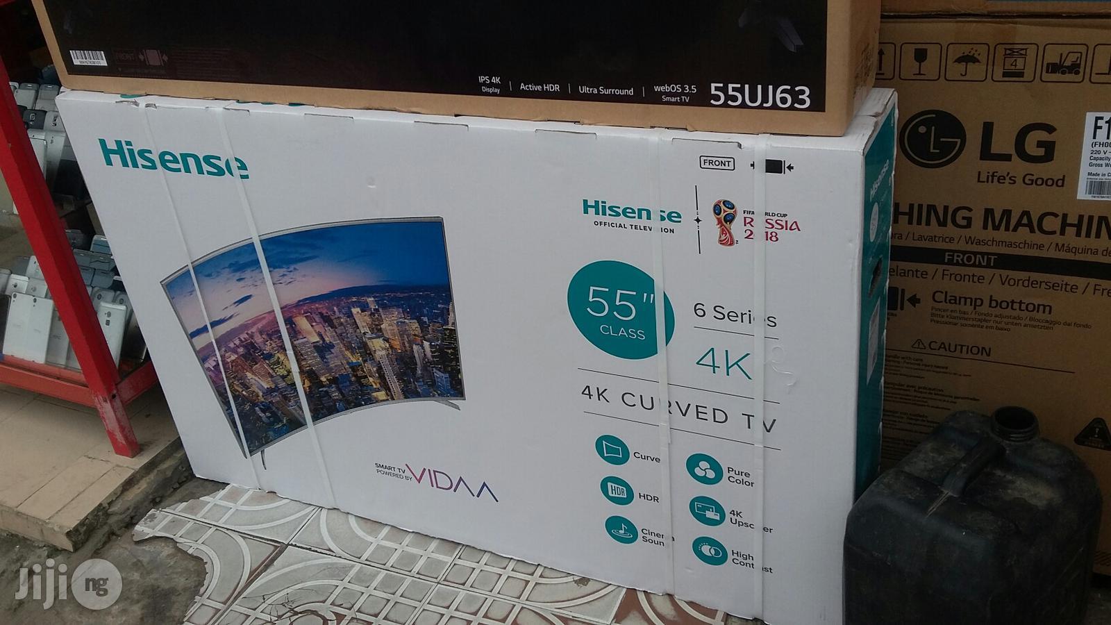 Brand New Original Hisense 55inchs Smart Curve 4k Tv