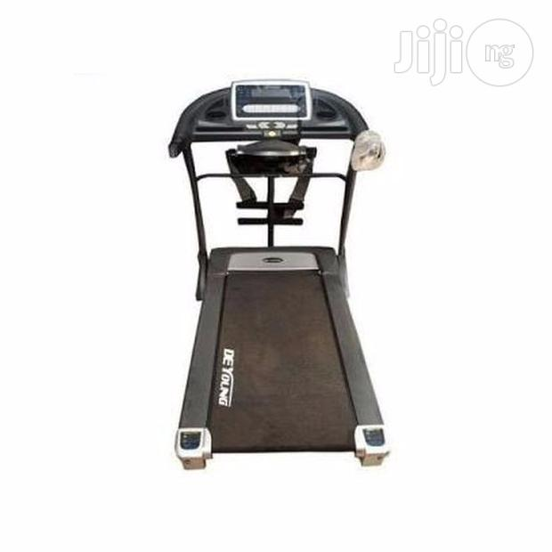 American Fitness 2.5hp Treadmill With Massager and Dumbbell