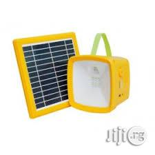 Solar Rechargeable Lantern With FM Radio & MP3 Player For Sale | Solar Energy for sale in Lagos State, Ikeja