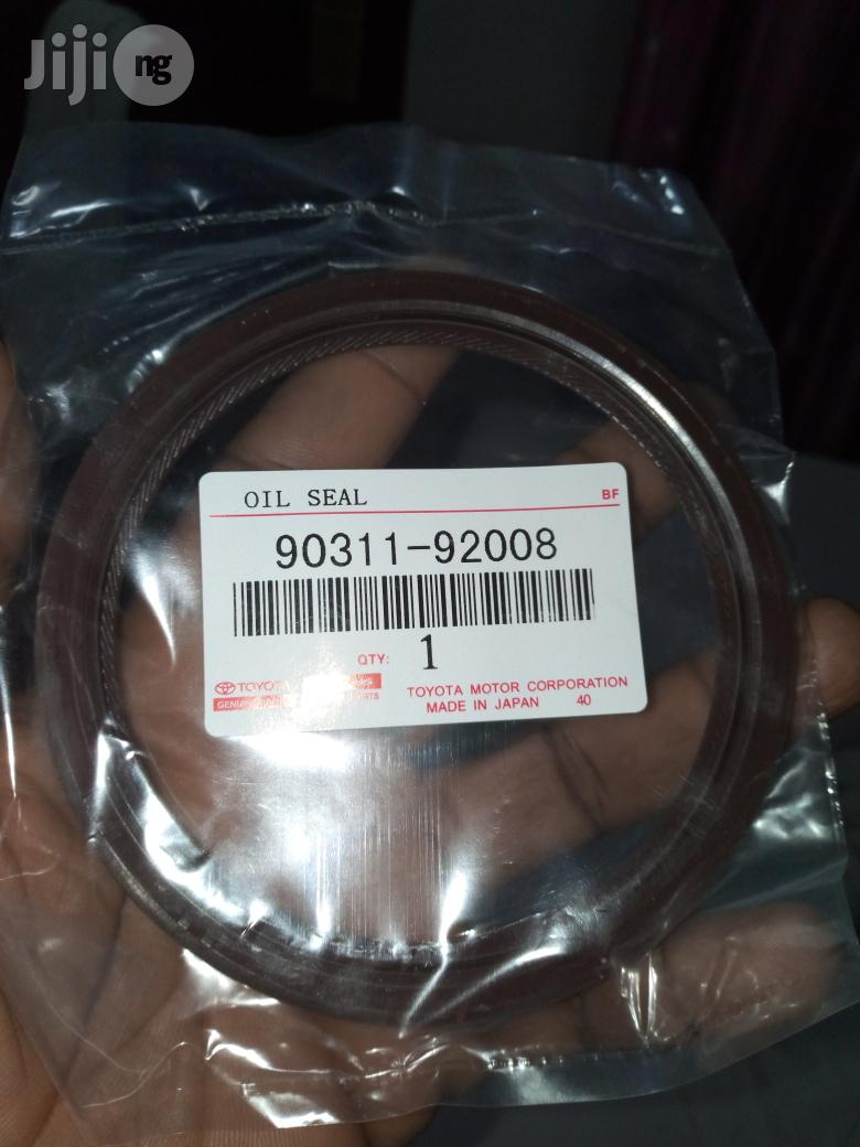 Engines Oil Seal Rear For 1MZ ,3MZ Toyota And Lexus