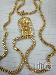 Snake Chain With Jesus Peace Pendant | Jewelry for sale in Lagos State, Yaba