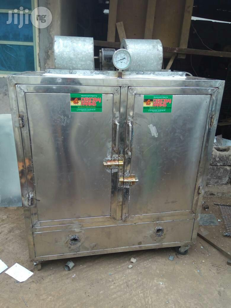 Stainless Interior And Exterior Smoking Kiln/Oven