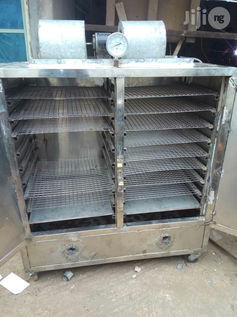Stainless Interior And Exterior Smoking Kiln/Oven   Farm Machinery & Equipment for sale in Oshodi, Lagos State, Nigeria
