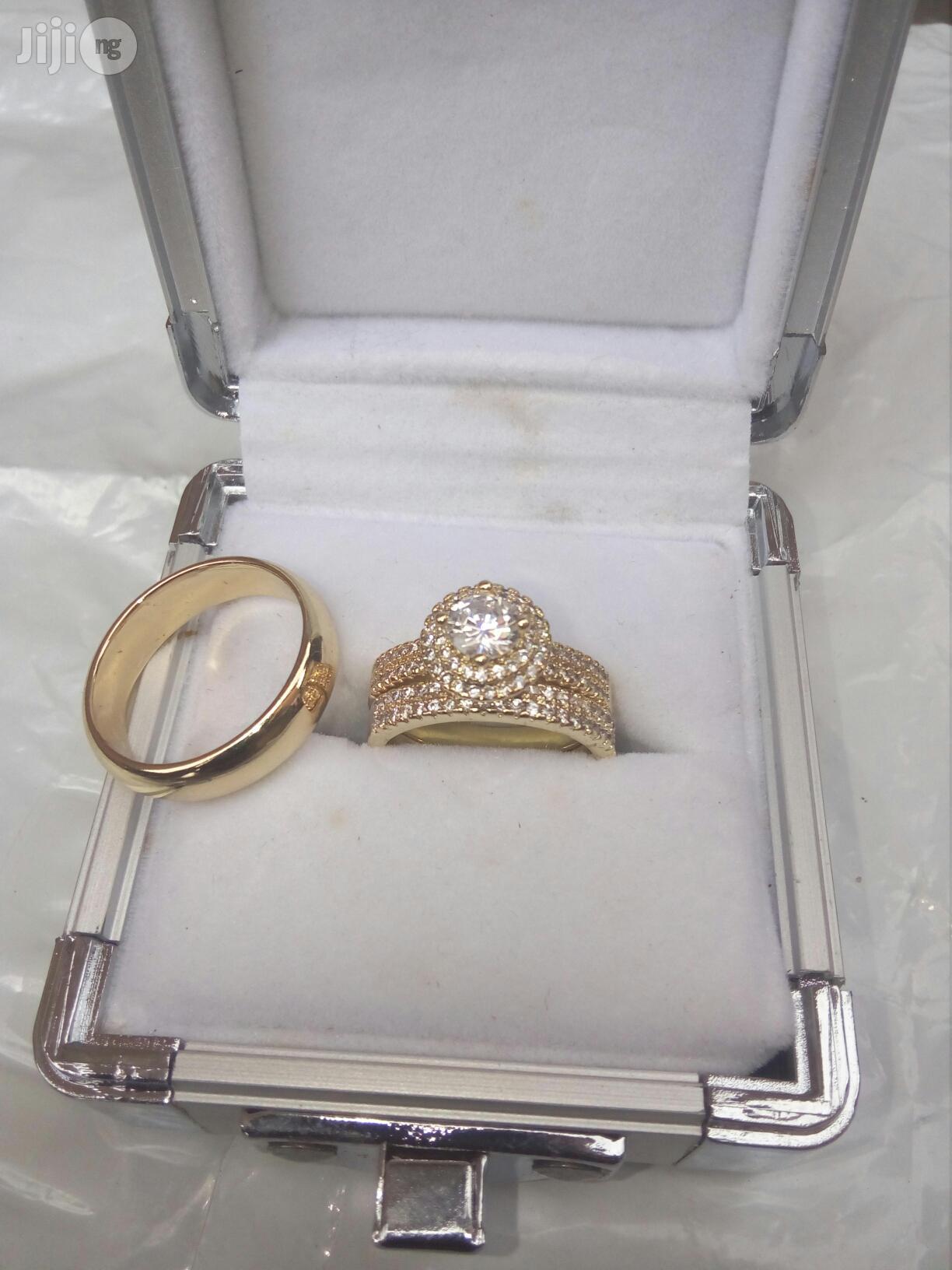 Romanian Gold Wedding Ring | Wedding Wear & Accessories for sale in Lagos Island (Eko), Lagos State, Nigeria