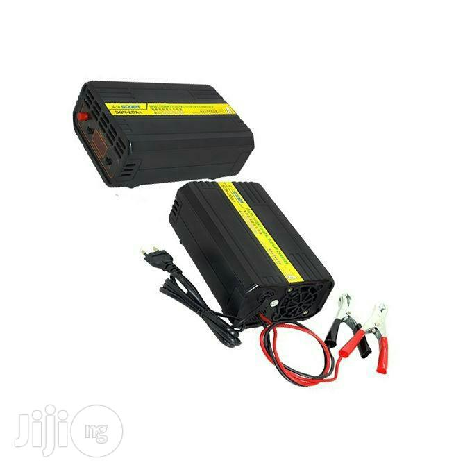 12v/24v 20A Battery Charger With LCD Screen For Deep Cycle