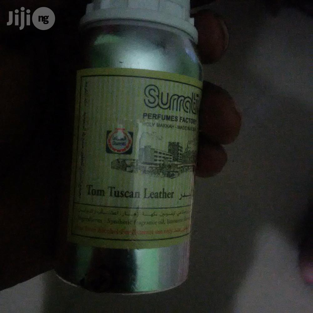 Pure Surrati Oil Based Perfum Tom Tuscan Leather Fragrance | Fragrance for sale in Lagos Island (Eko), Lagos State, Nigeria