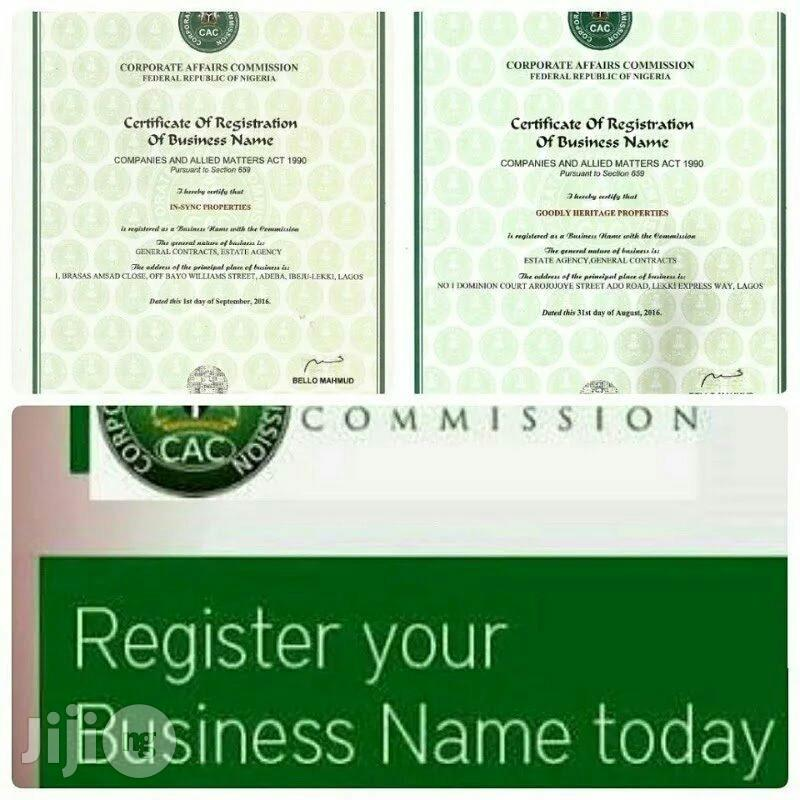 Archive: Register Your Company, Business, Association, Church And NGO