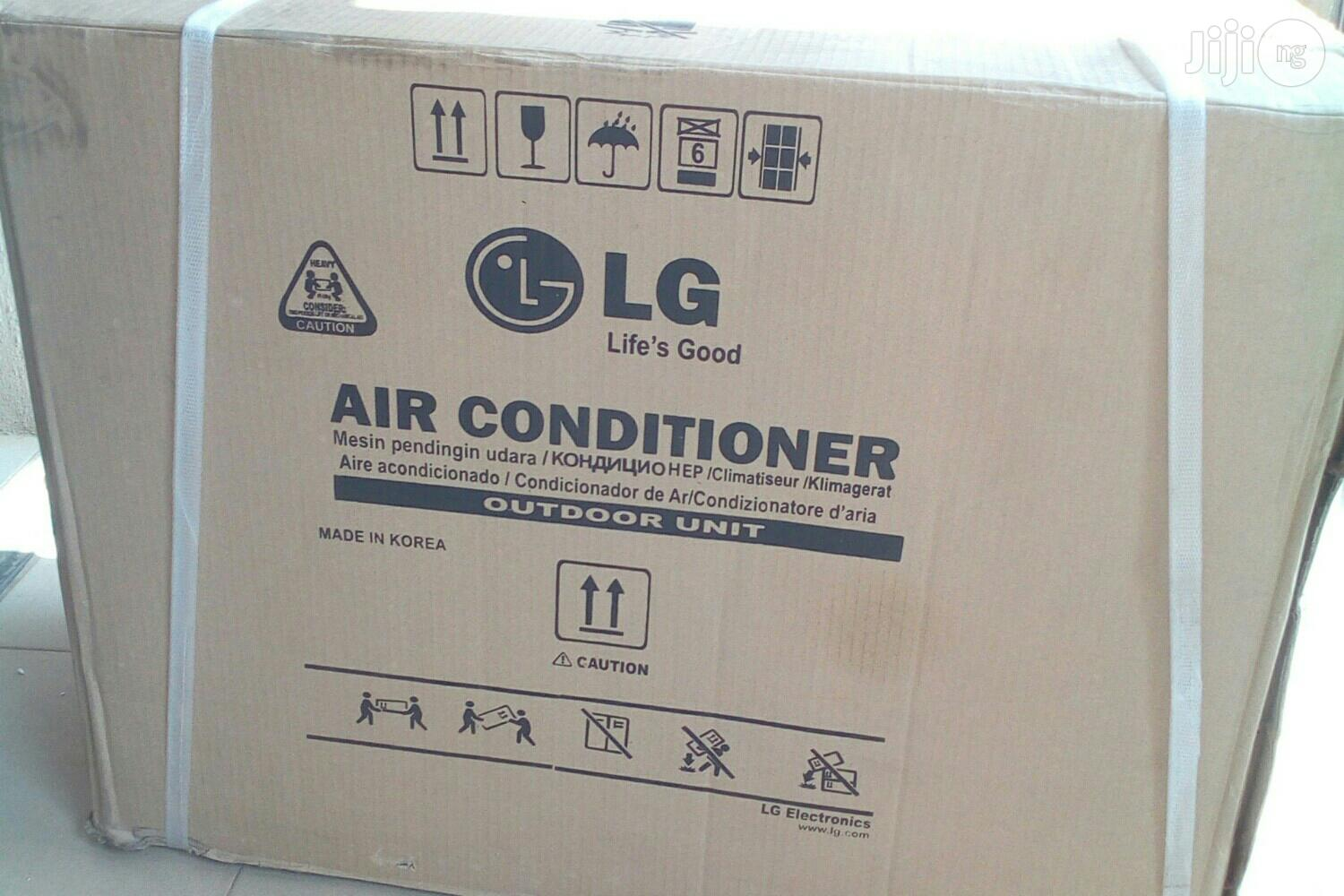 LG Air Conditioner 1.5hp With Kit | Home Appliances for sale in Gwagwalada, Abuja (FCT) State, Nigeria