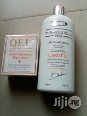 Pr Francoise Bedon Paris Lotion With Qei Carrot Soap | Bath & Body for sale in Lagos State