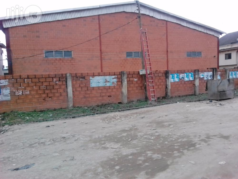 Warehouse in Ago Palace Way, Okota, Lagos for Lease