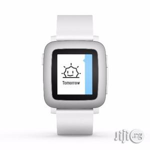 Time Smartwatch for Smartphone - White | Smart Watches & Trackers for sale in Lagos State