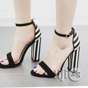 Black and White Sandal | Shoes for sale in Lagos State, Ikoyi